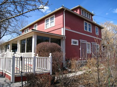 Haunted Houses in Calgary - The Deane House