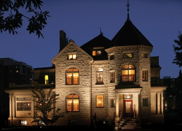 Haunted Houses in Calgary - The Lougheed House