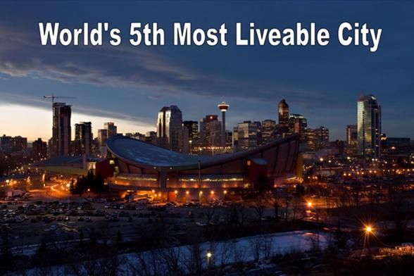 Calgary Ranked 5th on List of Most Livable Cities in the World