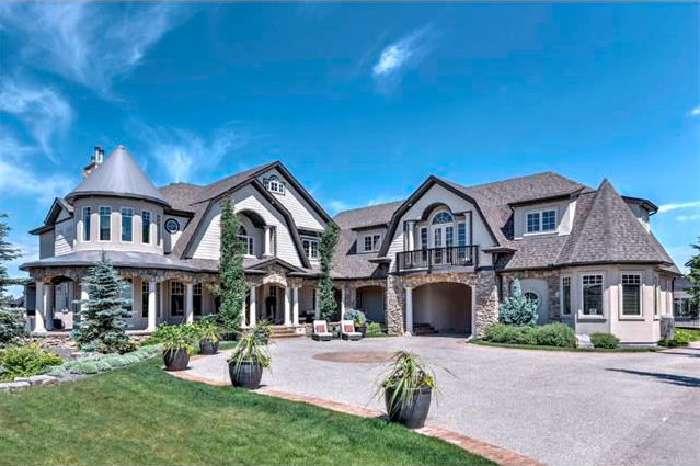 Golfer Stephen Ames Calgary Luxury Home for Sale in Aspen Woods