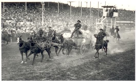 First Calgary Stampede in 1912.