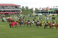 Olympic Feeling at the Masters in Spruce Meadows