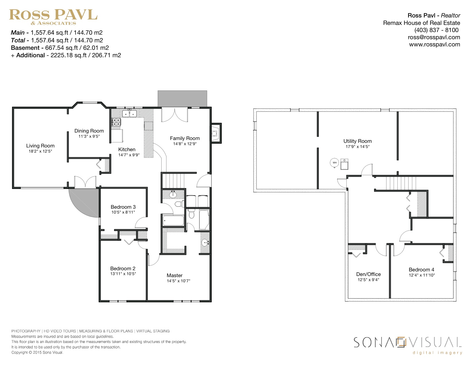 2420 Palliswood Rd SW - Floor Plan